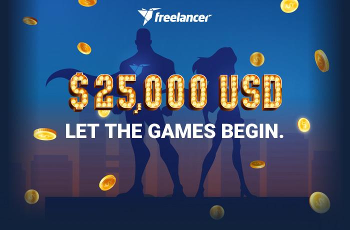 $25,000 USD. Be The Hero of Freelancer.com