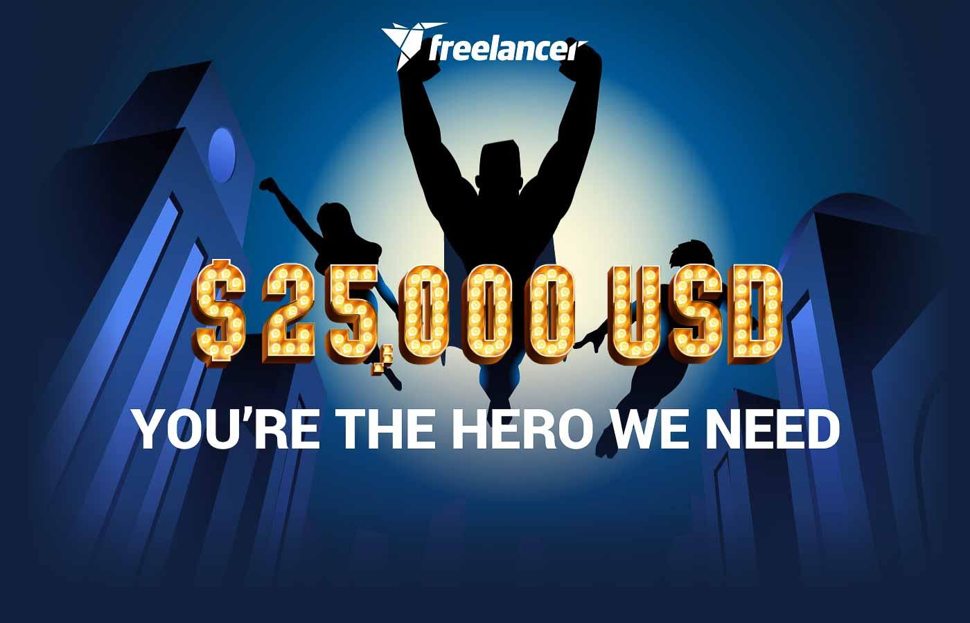 $25,000 You're the hero we need