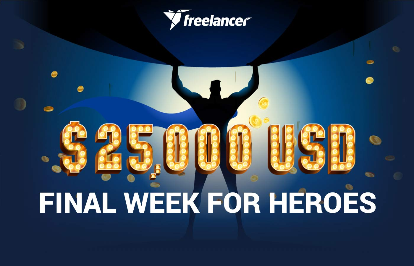 $25,000 Final Week To Be Our Hero